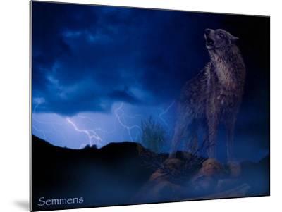 Distant Thunder-Gordon Semmens-Mounted Giclee Print