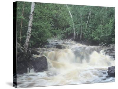 Lake Superior 09-Gordon Semmens-Stretched Canvas Print