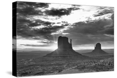 Monument Valley 03-Gordon Semmens-Stretched Canvas Print