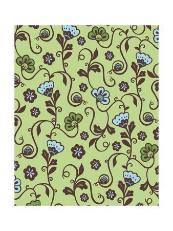 Flowers V-Esther Loopstra-Framed Giclee Print