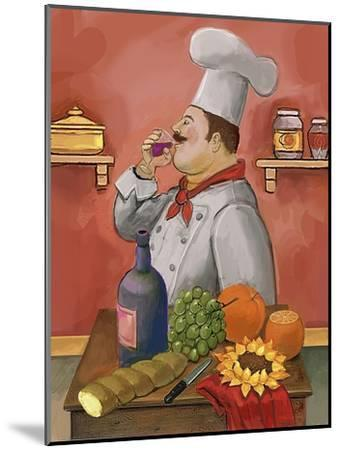 Wine Chef Master-Frank Harris-Mounted Giclee Print