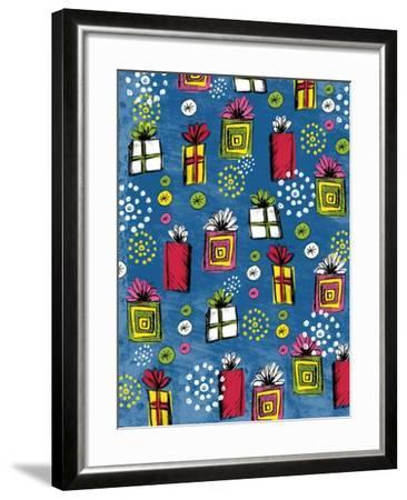 Birthday Presents-Esther Loopstra-Framed Giclee Print