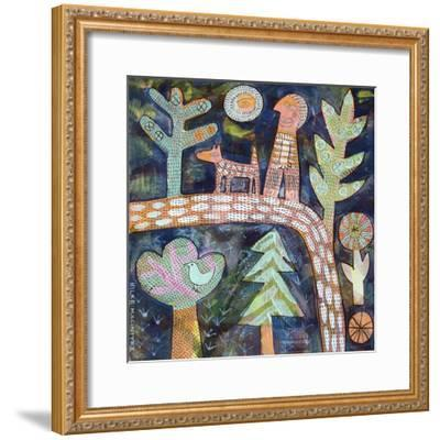 Walking the Dog - Dark-Hilke Macintyre-Framed Giclee Print