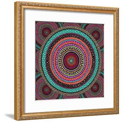 Into the Night-Hello Angel-Framed Giclee Print