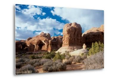 Arches-Gordon Semmens-Metal Print