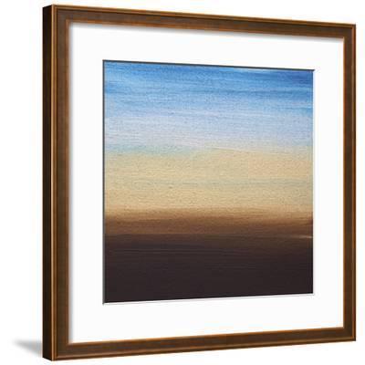 Ten Sunsets - Canvas 6-Hilary Winfield-Framed Giclee Print