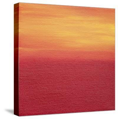 Ten Sunsets - Canvas 7-Hilary Winfield-Stretched Canvas Print