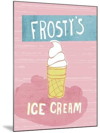 Ice Cream-Esther Loopstra-Mounted Giclee Print