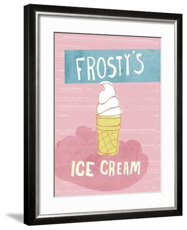 Ice Cream-Esther Loopstra-Framed Giclee Print