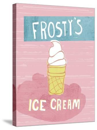 Ice Cream-Esther Loopstra-Stretched Canvas Print