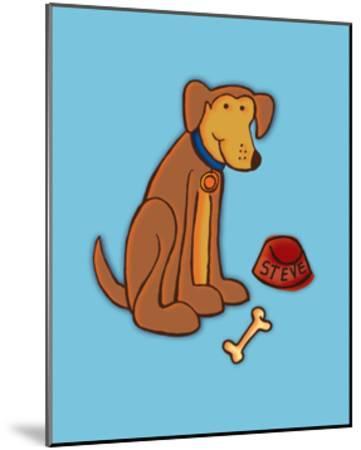 Dog Bone, Card-Esther Loopstra-Mounted Giclee Print