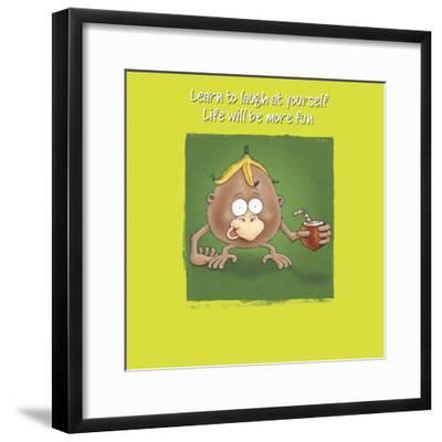 Monkey Business-FS Studio-Framed Giclee Print