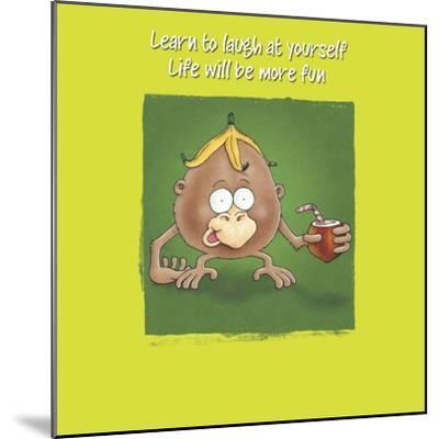 Monkey Business-FS Studio-Mounted Giclee Print
