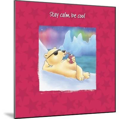 Stay Cool-FS Studio-Mounted Giclee Print