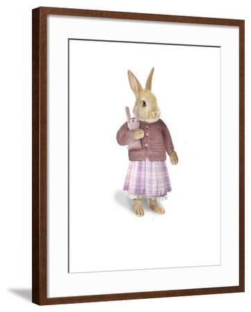 Cotton Tail-J Hovenstine Studios-Framed Giclee Print