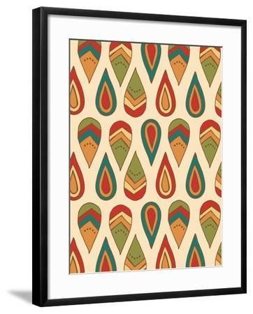 Drop Pattern-Esther Loopstra-Framed Giclee Print