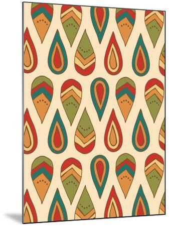 Drop Pattern-Esther Loopstra-Mounted Giclee Print
