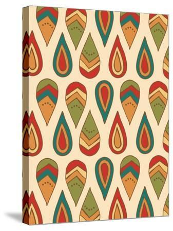 Drop Pattern-Esther Loopstra-Stretched Canvas Print