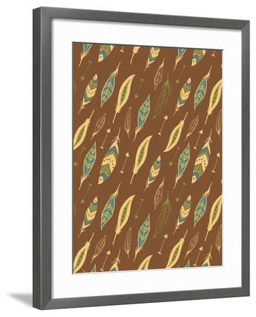 Feathers-Esther Loopstra-Framed Giclee Print