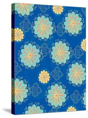 Floral Pattern III-Esther Loopstra-Stretched Canvas Print