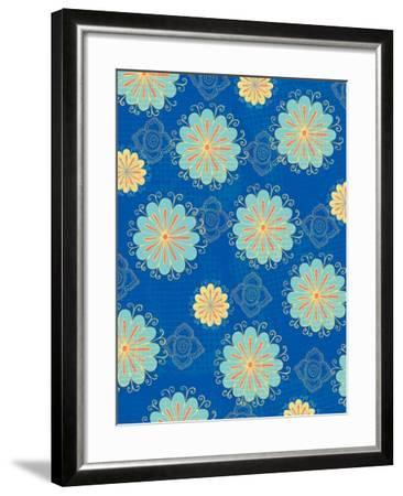Floral Pattern III-Esther Loopstra-Framed Giclee Print