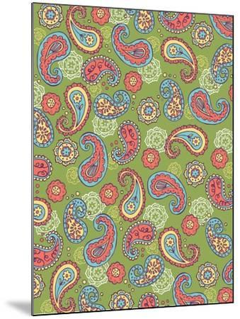 Paisley Pattern, Card-Esther Loopstra-Mounted Giclee Print