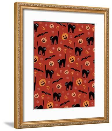 Jack-o-Lantern-Esther Loopstra-Framed Giclee Print