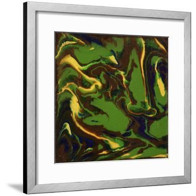 Liquid Industrial IIII - Canvas XII-Hilary Winfield-Framed Giclee Print