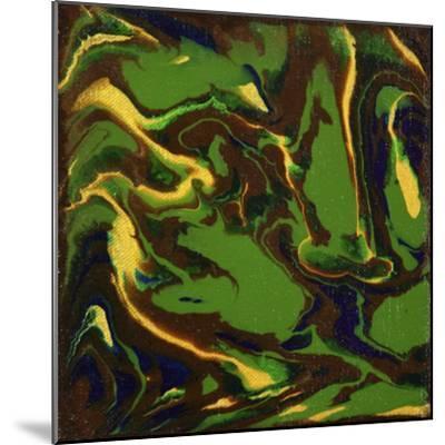 Liquid Industrial IIII - Canvas XII-Hilary Winfield-Mounted Giclee Print