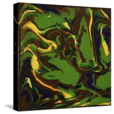 Liquid Industrial IIII - Canvas XII-Hilary Winfield-Stretched Canvas Print