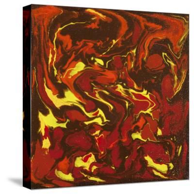 Liquid Industrial IIII - Canvas IV-Hilary Winfield-Stretched Canvas Print