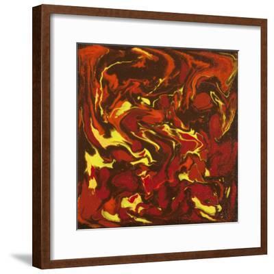 Liquid Industrial IIII - Canvas IV-Hilary Winfield-Framed Giclee Print
