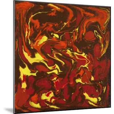 Liquid Industrial IIII - Canvas IV-Hilary Winfield-Mounted Giclee Print