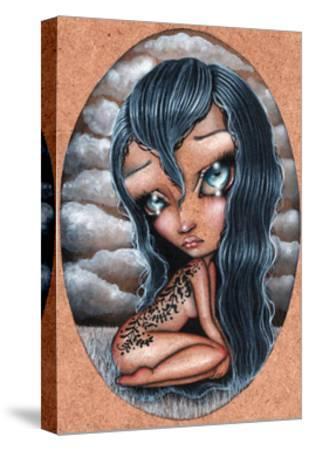 Sorrow-Helena Reis-Stretched Canvas Print