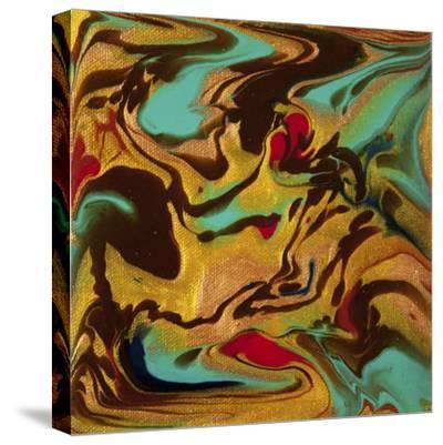 Liquid Industrial IIII - Canvas XVIII-Hilary Winfield-Stretched Canvas Print