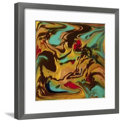 Liquid Industrial IIII - Canvas XVIII-Hilary Winfield-Framed Giclee Print