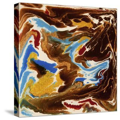 Liquid Industrial IIII - Canvas XIX-Hilary Winfield-Stretched Canvas Print