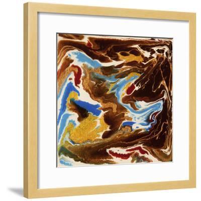 Liquid Industrial IIII - Canvas XIX-Hilary Winfield-Framed Giclee Print