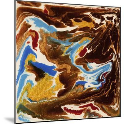 Liquid Industrial IIII - Canvas XIX-Hilary Winfield-Mounted Giclee Print