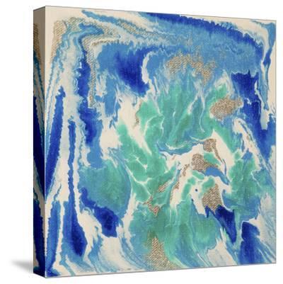 Liquid Industrial IIII - Canvas XVII-Hilary Winfield-Stretched Canvas Print