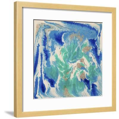 Liquid Industrial IIII - Canvas XVII-Hilary Winfield-Framed Giclee Print