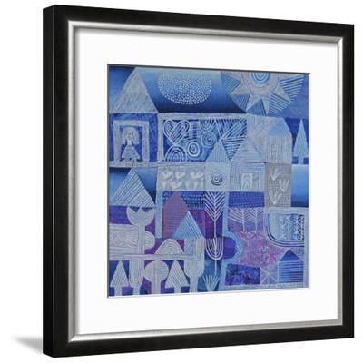 Blue Gardens-Hilke Macintyre-Framed Giclee Print
