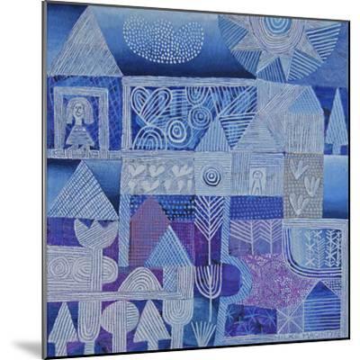Blue Gardens-Hilke Macintyre-Mounted Giclee Print