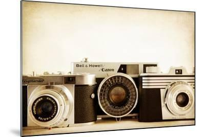 35MM Trio-Jessica Rogers-Mounted Giclee Print