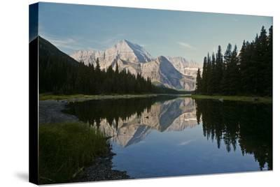 Glacier Z-Gordon Semmens-Stretched Canvas Print
