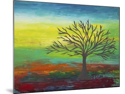 Abstract Tree 3-Hilary Winfield-Mounted Giclee Print