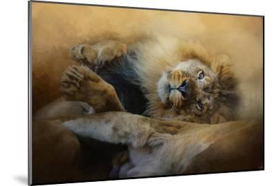 Lion Love 2-Jai Johnson-Mounted Giclee Print