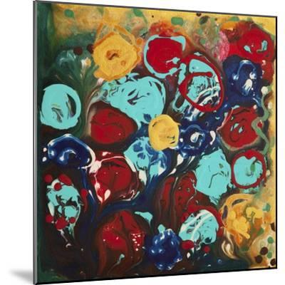 Abstract Flowers 3 - Canvas 3-Hilary Winfield-Mounted Giclee Print