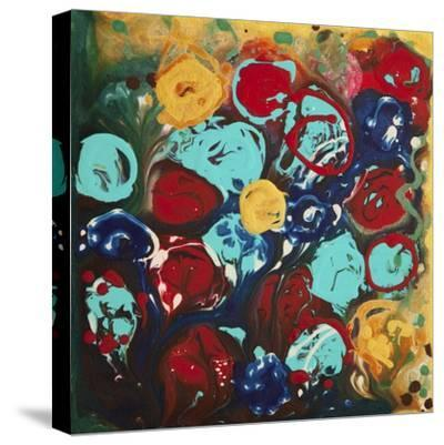 Abstract Flowers 3 - Canvas 3-Hilary Winfield-Stretched Canvas Print