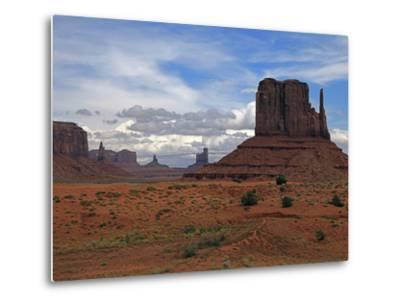 Monument Valley II-J.D. Mcfarlan-Metal Print
